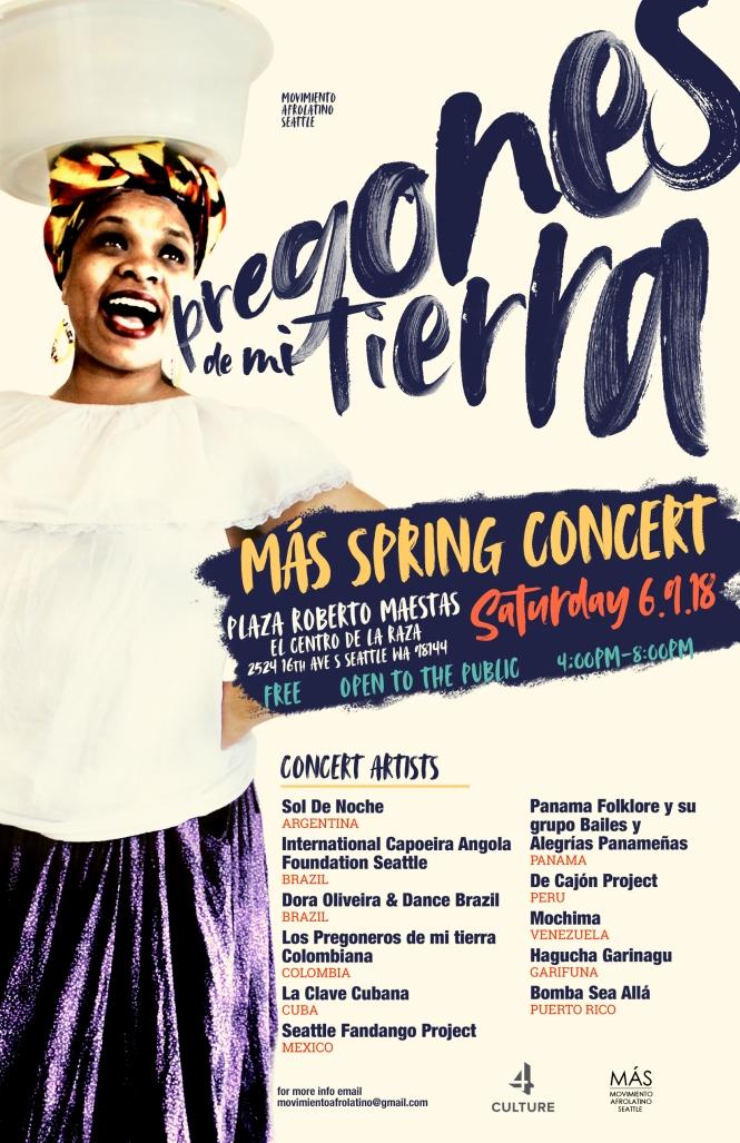 MAS Spring Concert | Pregones de mi tierra
